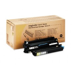Блок проявки Konica Minolta 1710532-002 для magicolor 7300, желтый, 26000 отпечатков