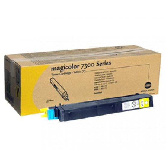 Тонер-картридж Konica Minolta 8938134 для magicolor 7300, желтый, 7500 отпечатков