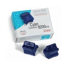 Чернила твердые Xerox 016204100 для Phaser 8200, голубой, 2*1400отп.