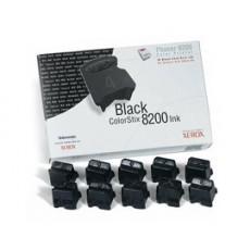Чернила твердые Xerox 016204400 для Phaser 8200, черный, 10*1400отп.