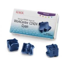 Чернила твердые Xerox 108R00660 для WorkCentre C2424, голубой, 3*3400отп.