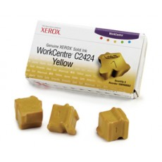 Чернила твердые Xerox 108R00662 для WorkCentre C2424, желтый, 3*3400отп.
