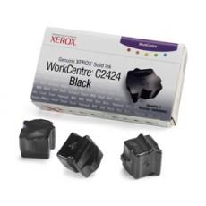 Чернила твердые Xerox 108R00663 для WorkCentre C2424, черный, 3*3400отп.