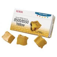 Чернила твердые Xerox 108R00671 для Phaser 8500, желтый, 3*1000отп.